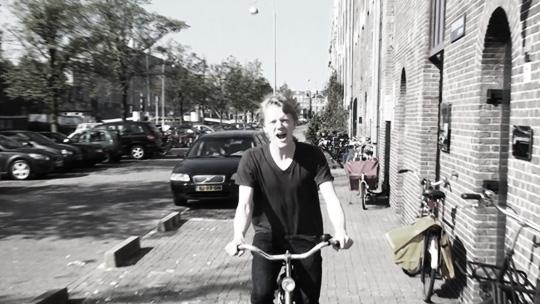 Ian in Amsterdam