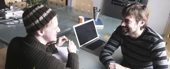 Ian (Director) and Joris Kerbosch (Director of Photography)