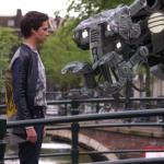 Vanja Rukavina meets robot